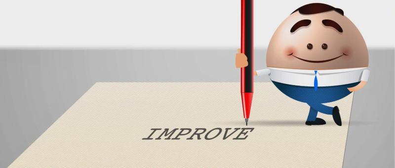 Op weg naar verbeteringen in uw bedrijf.