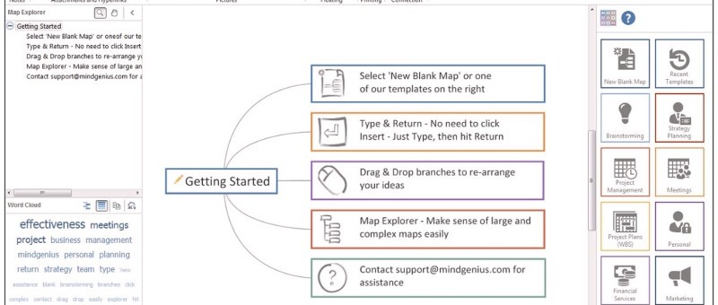 PROINT Beta-tester Mindmap software